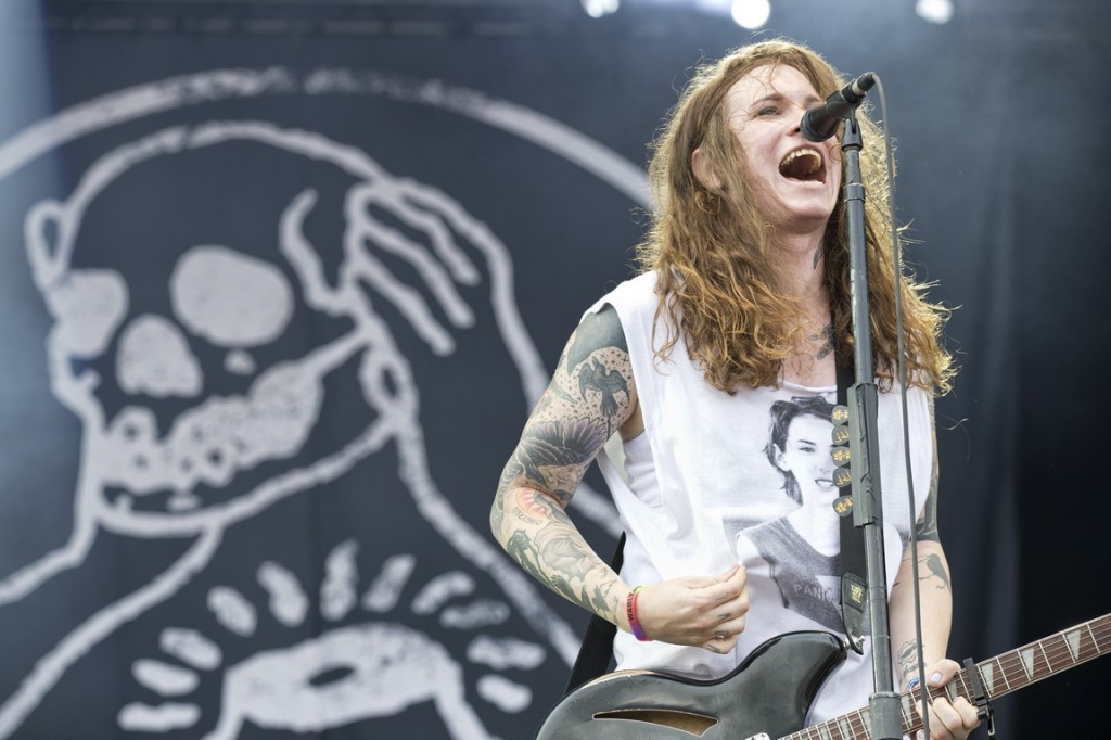 AGAINST ME! (photo Pat Beaudy, Osheaga)