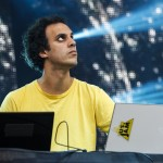 FOUR TET (photo: Eva Blue, Osheaga)