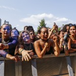 SHLOMO fans (photo: Eva Blue, Osheaga)