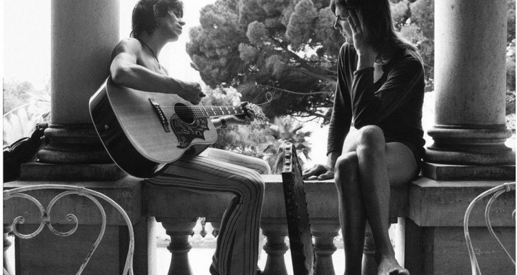gram-parsons - keith-richards- villa nellcôte Copyright Dominique Tarle