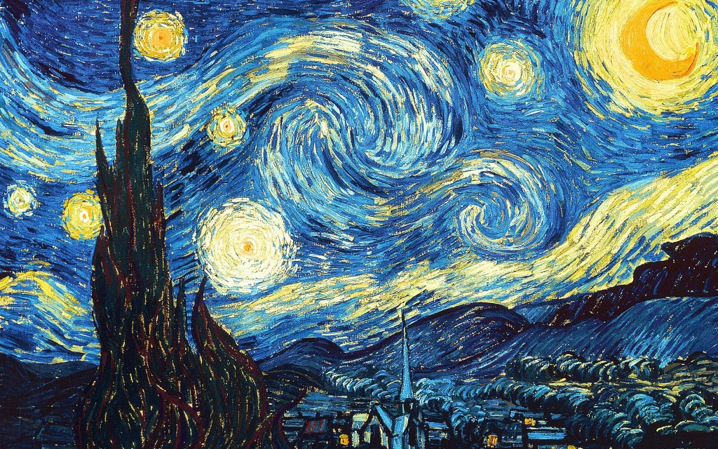 """Paint 'A Starry Night' again, man!"""