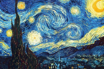 A Starry Night - Vincent Van Gogh