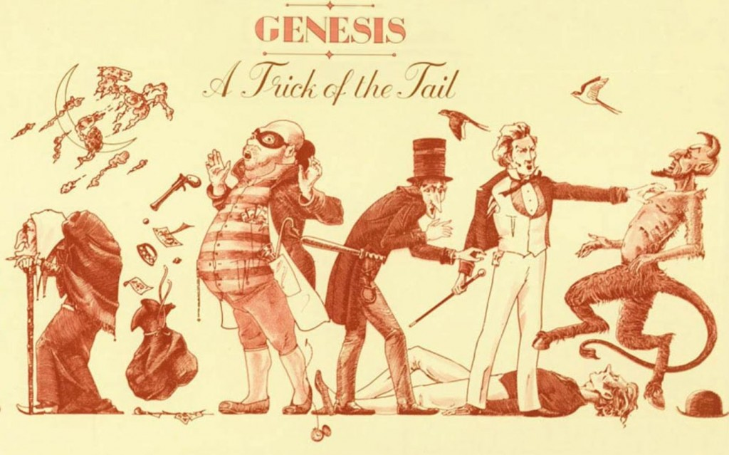 genesis a trick of the tail cover