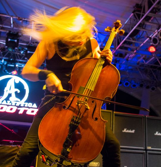 Eicca Toppinen from Apocalyptica