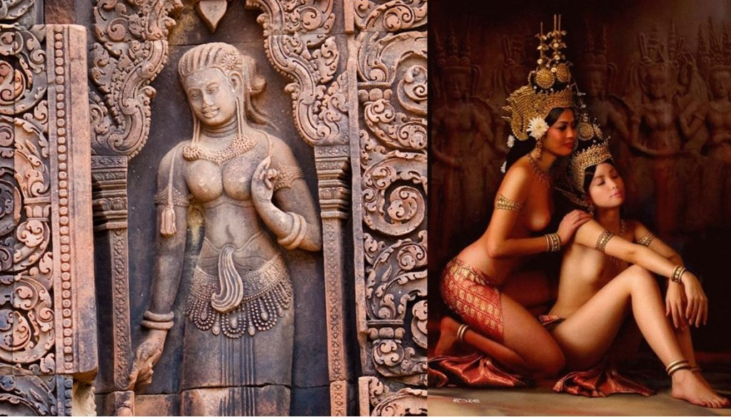 ancient and modern apsaras