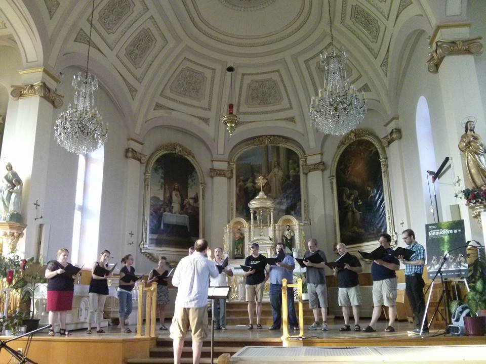 Rehearsing the Brumel Earthquake Mass with the SMAM