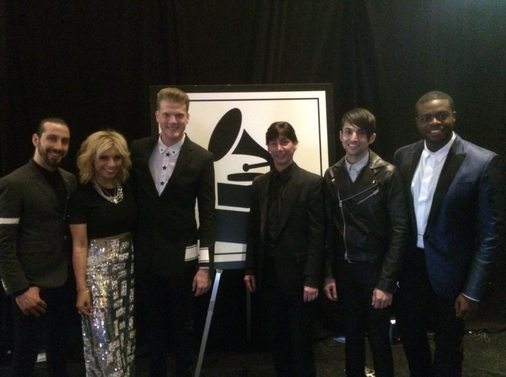 Pentatonix, winners at the Grammy Awards, 2015