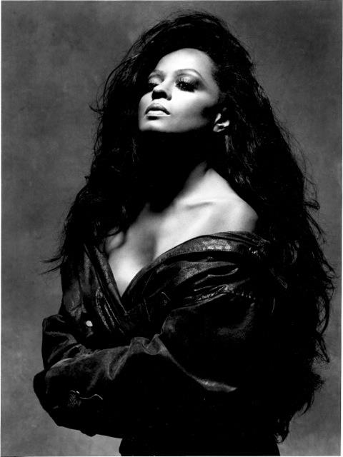 breast size Diana Ross