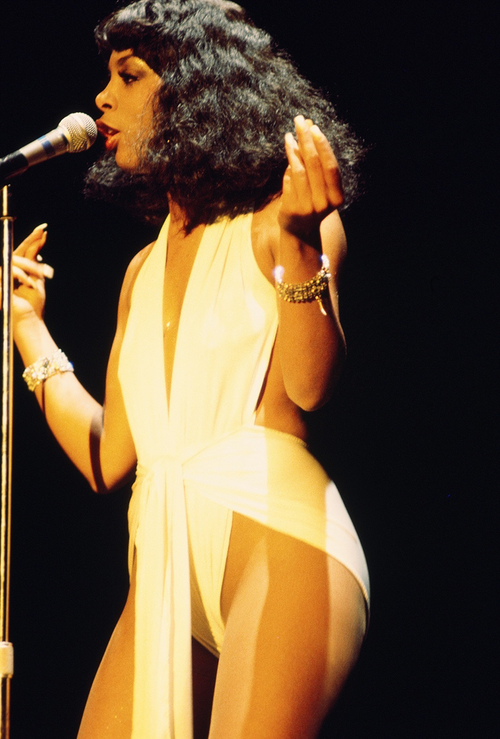 breast size Donna Summer