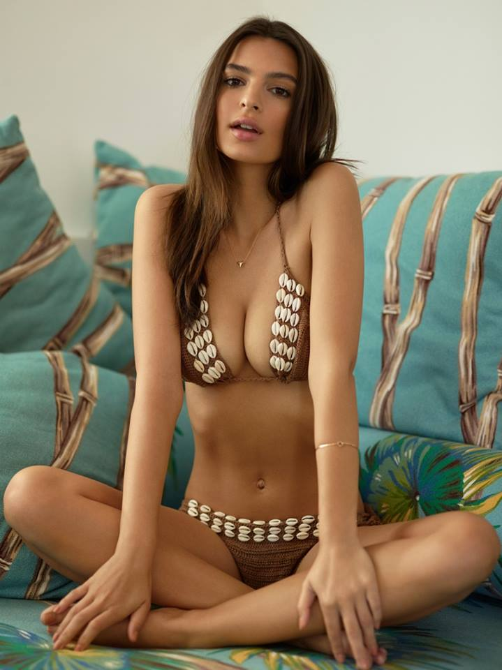breast size Emily Ratajkowski blurred lines