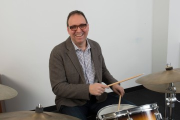 michael simon on drums