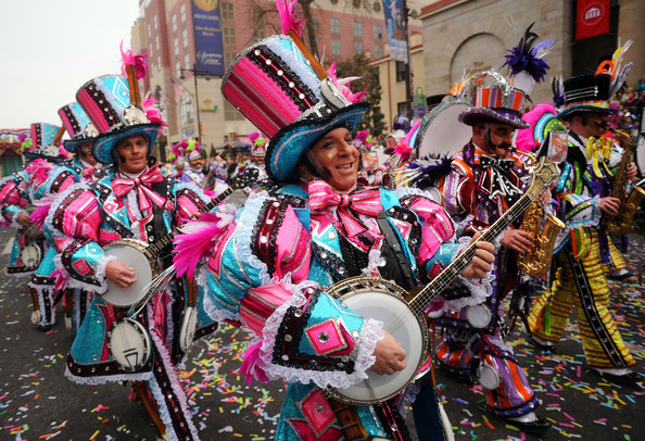 Mummers Day Parade in Philadelphia ((Dec. 31, 2010 - Source: William Thomas Cain/Getty Images North America)