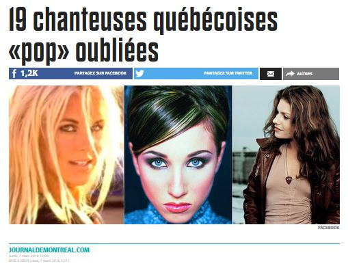 19 chanteuses oubliees