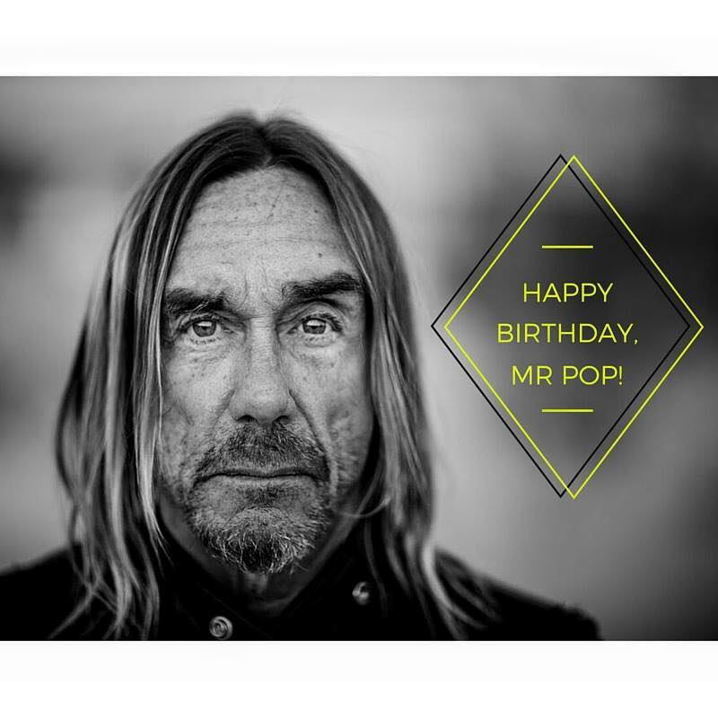 IGGY POP – Rebirth at 69