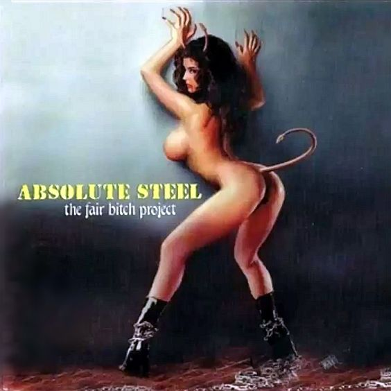 sexy record sleeve Absolute Steel Fair Bitch project 2002