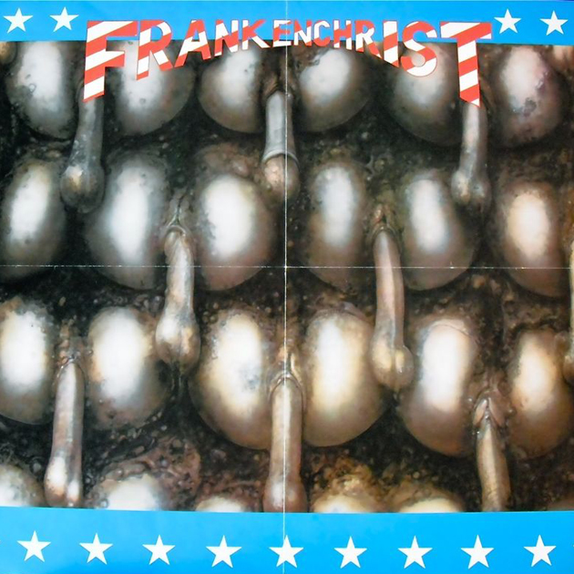 sexy record sleeve Dead Kennedys – Frankenchrist 1985