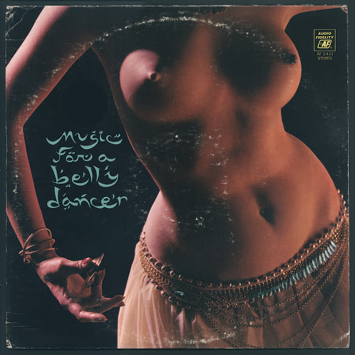 sexy record sleeve Mohammed El-Bakkar and His Oriental Ensemble music for a belly dancer