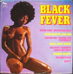 sexy record sleeve The Harlem Soul Brothers Black Fever 1975