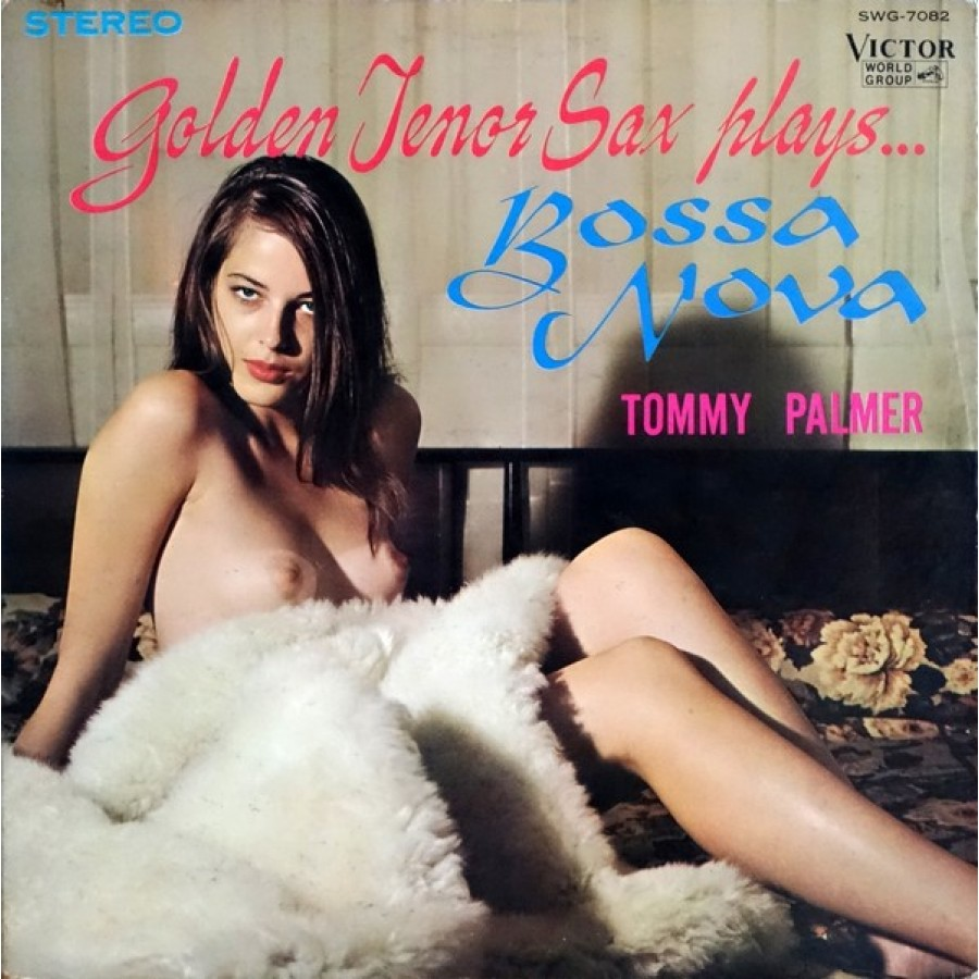 sexy record sleeve Tommy Palmer Golden Tenor Sax 1979