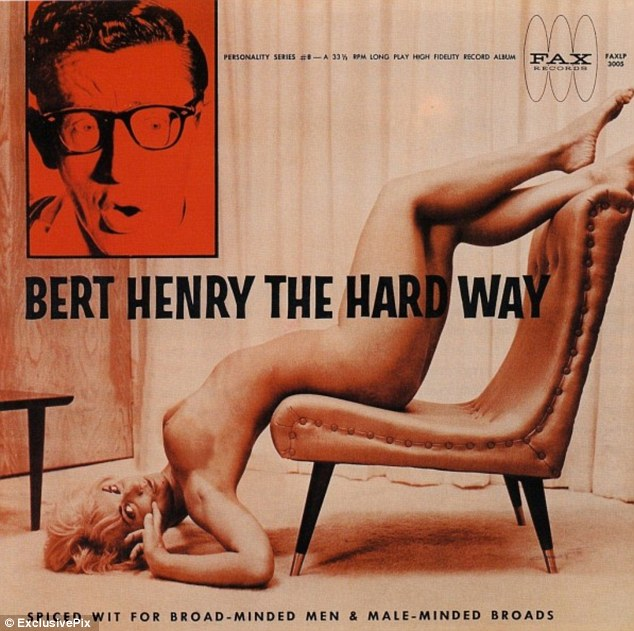sexy record sleeve bert henry the hard way 1963