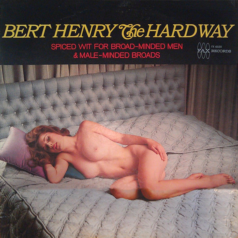 sexy record sleeve bert henrythe hard way alt