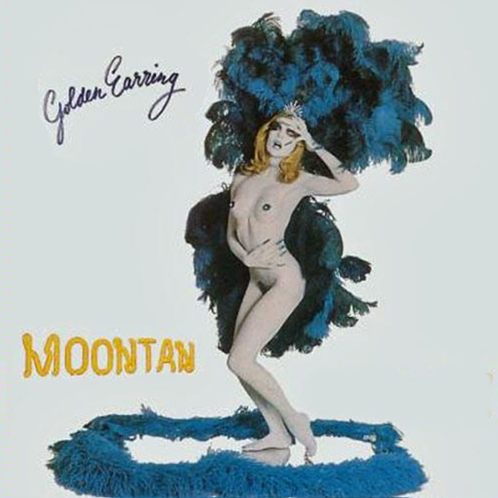 sexy record sleeve golden earring moontan 1973