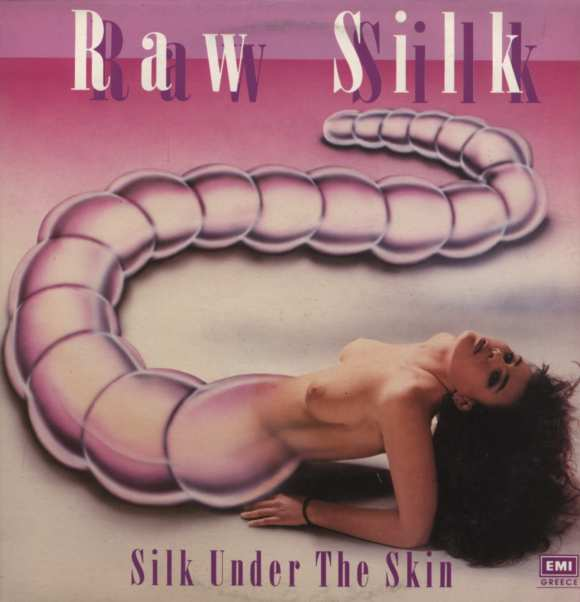 sexy record sleeve raw silk under the skin