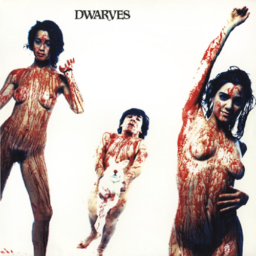 sexy record sleeve the dwarves 1990 Blood Guts and Pussy