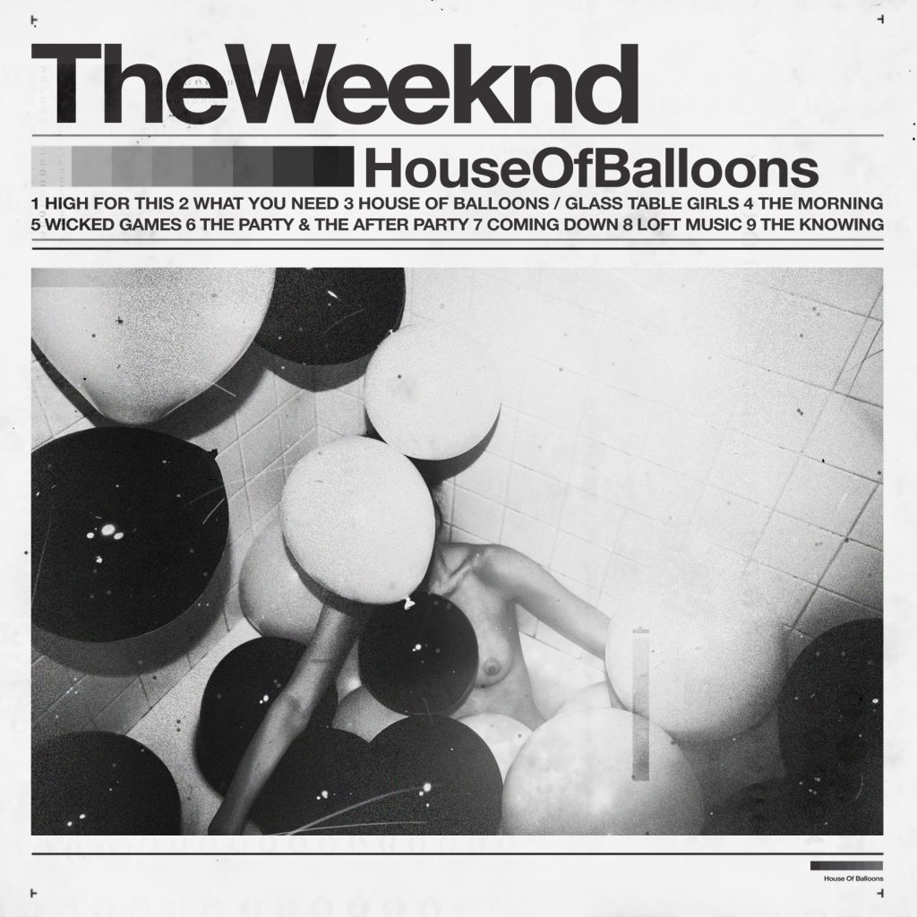 sexy record sleeves the weeknd house of balloons 2011