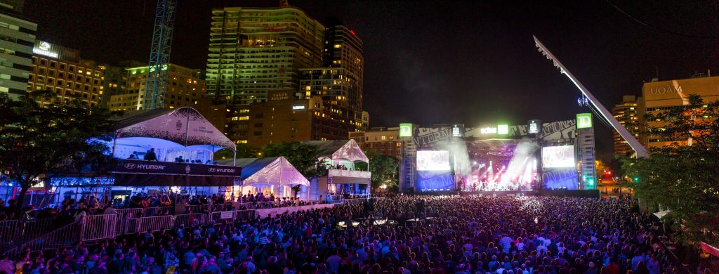 Montreal Jazz Festival Opening Day – Free Shows Walkabout