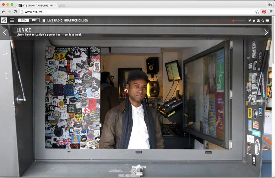 Lunice at NTS Radio (Dec 2015)