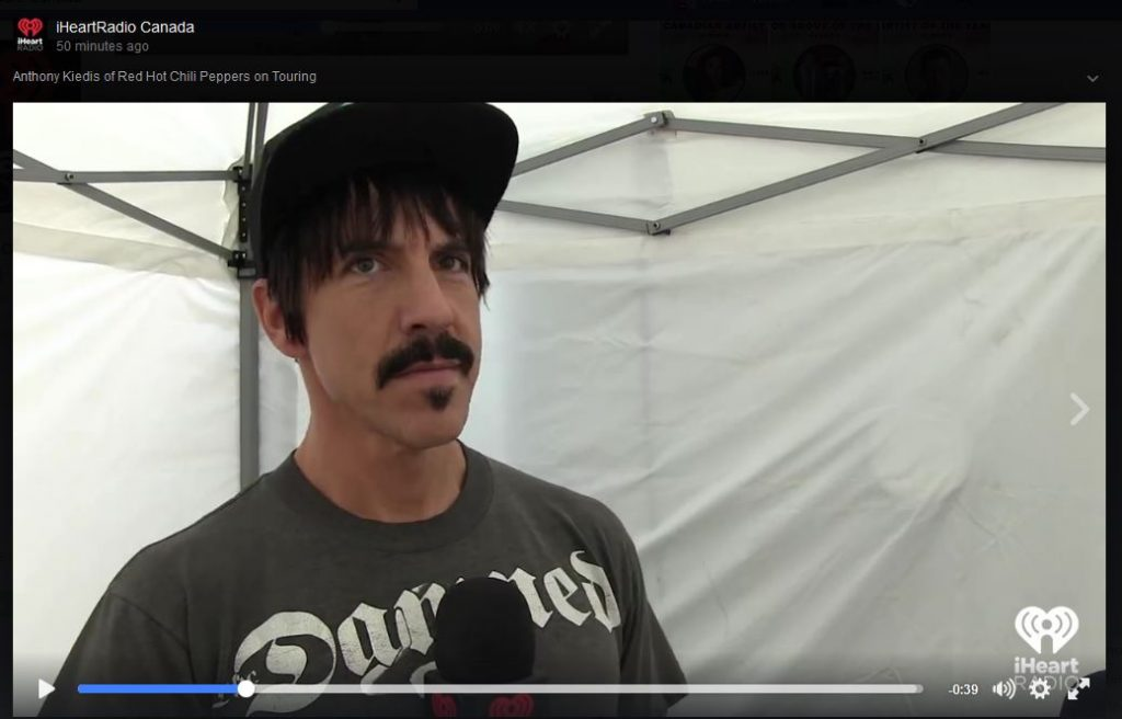 iheartradio anthony kiedis interview