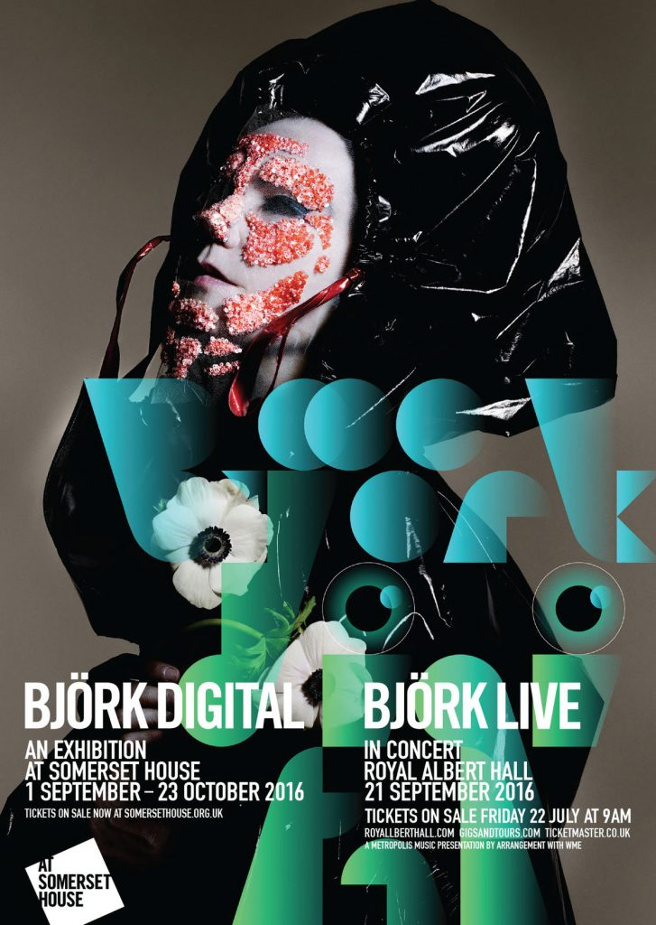 bjork digital expo poster