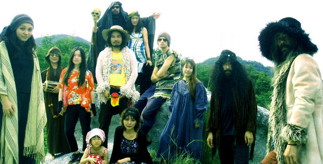 L'univers zen, du point de vue d'ACID MOTHERS TEMPLE & THE MELTING PARAISO U.F.O.