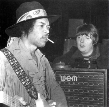 hendrix and chas chandler