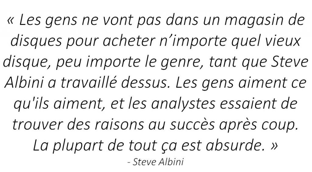 interview steve albini quote