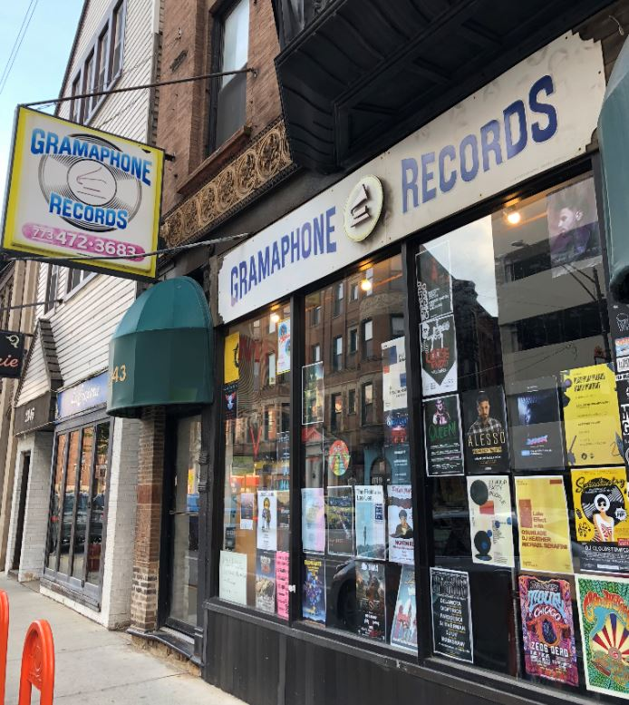 gramaphone records chicago