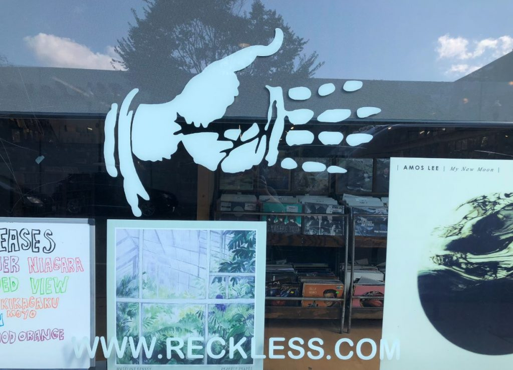 eckless records chicago hand logo